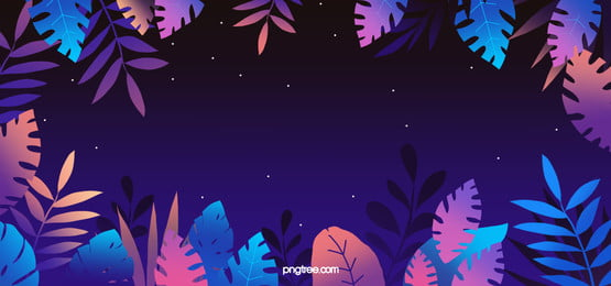 purple night fantasy plant background, Leaf, Night, Fantasy Background image