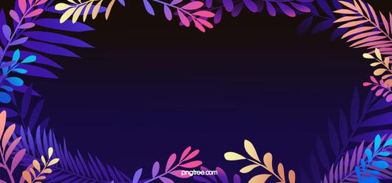 lãng mạn màu tím lá biên giới nền, Cây, Khu Rừng, Lá Ảnh nền