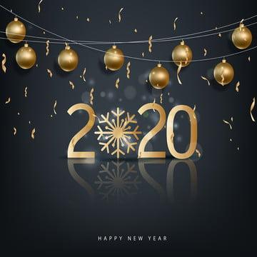2020 की बॉल मेरी क्रिसमस , दो हजार बीस, 2020 नए साल, पृष्ठभूमि पृष्ठभूमि छवि