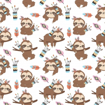 Sloth Background Photos Vectors And Psd Files For Free Download Pngtree