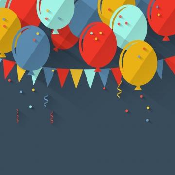 生日背景與彩色氣球 , 生日, 背景, 氣球 背景圖片