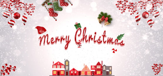 christmas decoration red and white background, Baloons, Balloon, Gift Box Background image