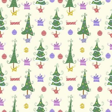 क्रिसमस के पेड़ पृष्ठभूमि के लिए सहज पैटर्न , आराध्य, पशु, पृष्ठभूमि पृष्ठभूमि छवि