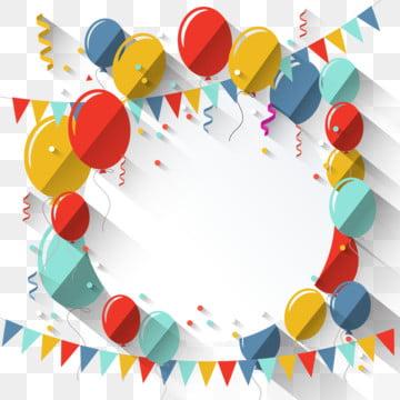 テキストの丸い場所とカラフルなフラット誕生の背景 , 背景, 誕生日, 誕生日背景 背景画像