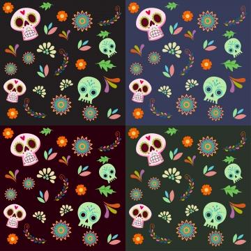 dia de muertos fondo 1, Floral, Parte, Pintura Imagen de fondo