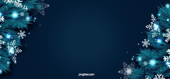 diagonal realistik tumbuhan biru natal snowflake latar belakang tempat cahaya, Biru, Tempat, Krismas imej latar belakang