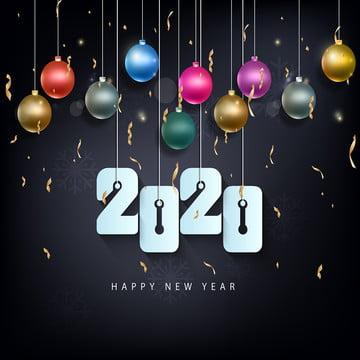 새해 복 많이 받으세요 2020 축제 축하 , 2020년까지, 새로운 1년 전에, 배경 배경 이미지