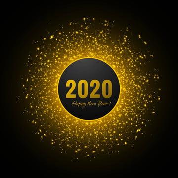 새해 복 많이 받으세요 2020 골든 반짝이 배경 , 플래시, 플래시 배경, 빛 배경 이미지