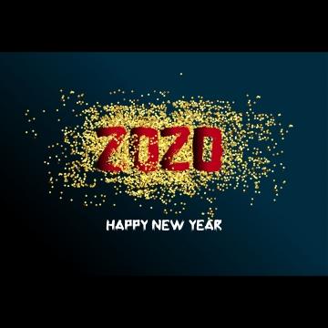 새해 복 많이 받으세요 2020년 , 2020년까지, 새로운 1년 전에, 배경 배경 이미지
