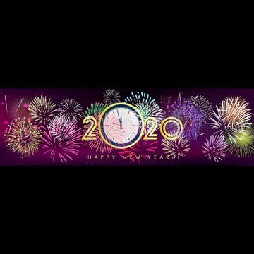 새해 축하 , 2020년까지, 새로운 1년 전에, 배경 배경 이미지