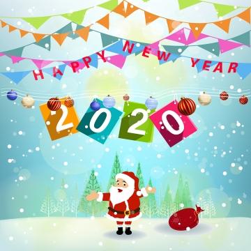 メリークリスマスの背景デザイン , 2020年, 2020年新年, 背景 背景画像