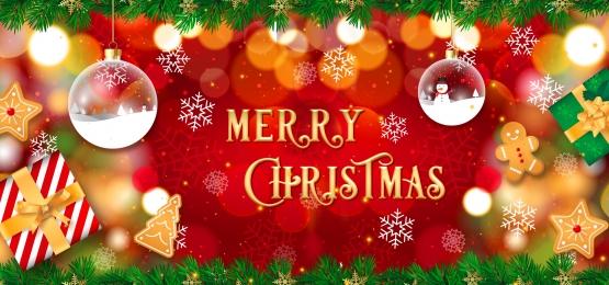 メリークリスマス, 赤, クリスマス, 雪 背景画像