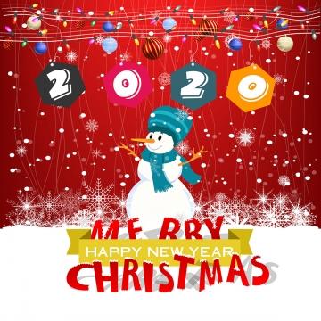 मेरी क्रिसमस बर्फ आदमी हल्की सजावट पृष्ठभूमि के साथ , क्रिसमस, बर्फ आदमी, दो हजार बीस पृष्ठभूमि छवि