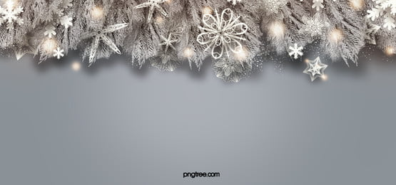 realistic plant white christmas snowflake orange light spot background, Facula, Christmas, Snowflake Background image