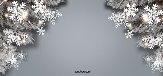 white christmas realistic plant snowflake orange light spot background, Tempat, Krismas, Snowflake imej latar belakang