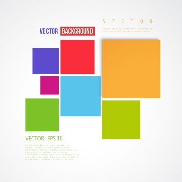 色付きの正方形のフレームと白いポスター , 抄録, スクエア, 背景 背景画像