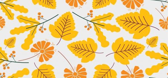 가을 원활한 패턴, 배경, 모드, 틈이 없다. 배경 이미지