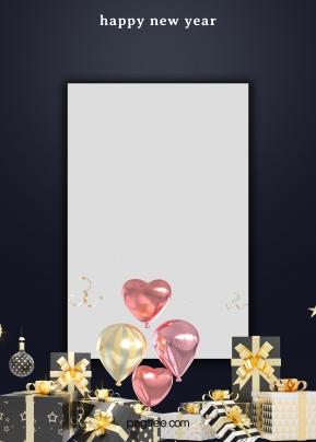 검은 파티 축 하 선물 쌓아 흰색 사각형 배경 , 선물, 까만색, 파티 배경 이미지