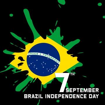 巴西獨立日 , 獨立日, 創意巴西, 巴西獨立紀念日快樂 背景圖片
