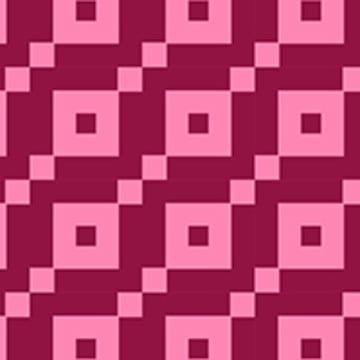 गहरे गुलाबी सुंदर चौकोर पैटर्न , सार, पृष्ठभूमि, परीक्षक पृष्ठभूमि छवि