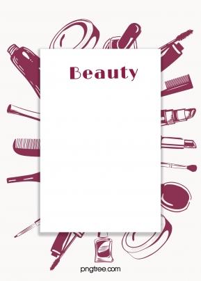 深紅色化妝品圍繞方框背景 , 紅色, 深紅色, 方框 背景圖片
