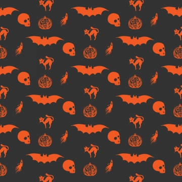 Cute Halloween Pattern Halloween Content Halloween Witch Ghost Background Image For Free Download