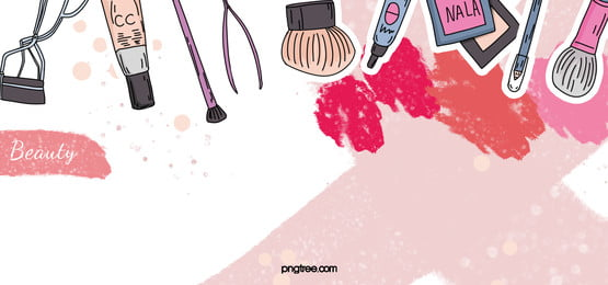 linear cartoon cosmetic color block background, Linear, Cartoon, Cosmetic Background image