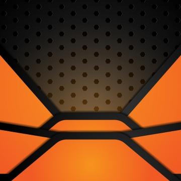 आधुनिक काले और नारंगी धातु की पृष्ठभूमि , सार, शांत, नारंगी पृष्ठभूमि छवि