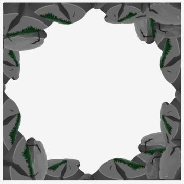 simple rock border , Simpleborder, Vectorsetvector, Decorate Background image