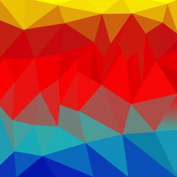 배경 다각형 빨강 파랑 그라데이션 , 광고, 다이제스트, 벽지 배경 이미지