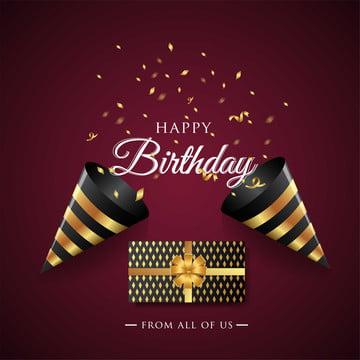 diseño de tipografía de celebración de feliz cumpleaños para póster o pancarta de tarjeta de felicitación , Cumpleaños, Feliz, Globo Imagen de fondo