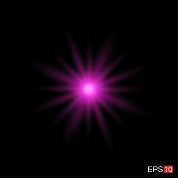 tia hồng bị cô lập với ống kính flare , Nền, Bùng Nổ., ánh Sáng Ảnh nền