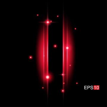 tia đỏ bị cô lập với ống kính flare , Nền, Bùng Nổ., ánh Sáng Ảnh nền