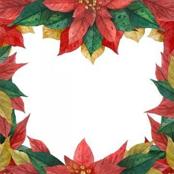 लाल हरे नुकीले फ्रेम , क्रिसमस, Poinsettia, स्टार पृष्ठभूमि छवि