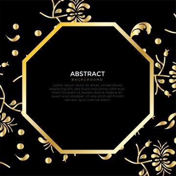 सुनहरे रंग के साथ फ्रेम में सरल डिजाइन पुष्प , वस्त्र, क्लासिक, आमंत्रित पृष्ठभूमि छवि
