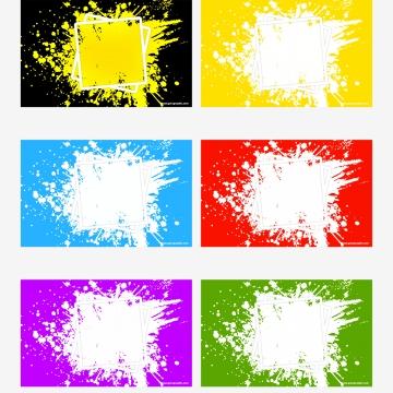 黒黄色スプラッシュ抽象的な背景 , 黒, イエロー, スプラッシュ 背景画像