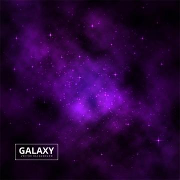 カラフルな銀河宇宙宇宙背景ベクトル , 抄録, 背景, 背景 背景画像