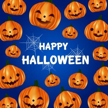 प्यारा कद्दू पैटर्न के साथ हैलोवीन ग्रीटिंग , कार्टून, हेलोवीन पार्टी, हेलोवीन पृष्ठभूमि छवि