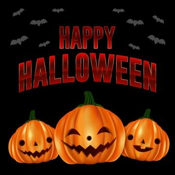 खुश हेलोवीन शुभकामनाएं और प्यारा कद्दू , हेलोवीन, हेलोवीन पार्टी, चरित्र पृष्ठभूमि छवि