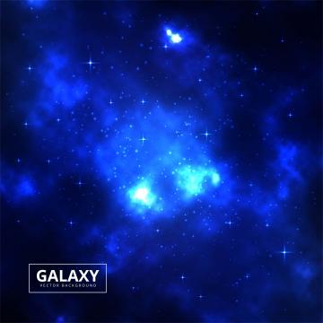 明るい星のベクトルと夜星空スカイブルースペースの背景 , 抄録, 背景, 背景 背景画像