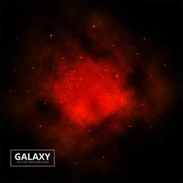 夜の星空の宇宙宇宙赤い空間の背景 , 抄録, 背景, 背景 背景画像