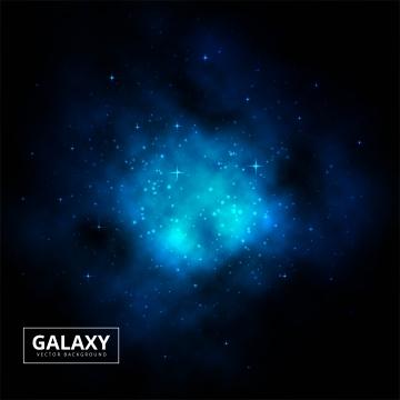 夜の星空の宇宙青い宇宙背景ベクトル , 抄録, 背景, 背景 背景画像