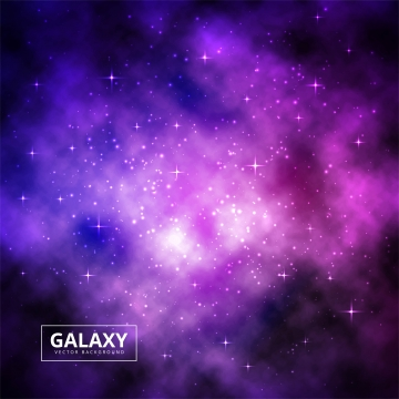 宇宙の光沢のあるカラフルな銀河背景ベクトル , 抄録, 背景, 背景 背景画像
