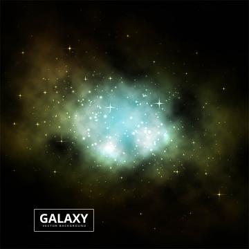 宇宙の光沢のある銀河のカラフルな背景のベクトル , 抄録, 背景, 背景 背景画像