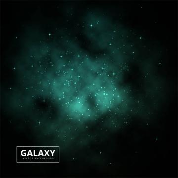 夜の星空と宇宙の暗い銀河のベクトル図 , 抄録, 背景, 背景 背景画像