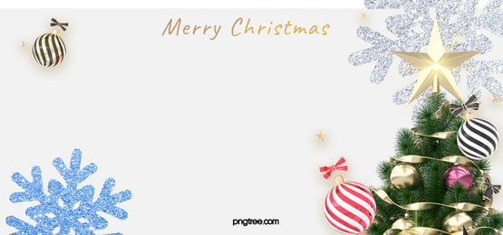 white christmas celebration christmas tree background, Round Ball, Christmas, Celebrating Background image