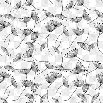 dente de leão bonito simples e limpo repetir design padrão , Elegante, Linda, Simples Imagem de fundo