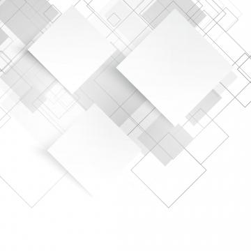 正方形の輪郭と白の抽象的な背景 , 背景, ベクター, 白 背景画像