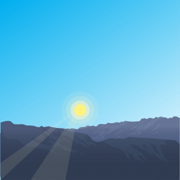कोहरे के जंगल के पहाड़ों और सुबह की धूप के दृश्य के साथ वेक्टर क्षैतिज परिदृश्य , मनोरम, दृश्य, चढ़ाई पृष्ठभूमि छवि