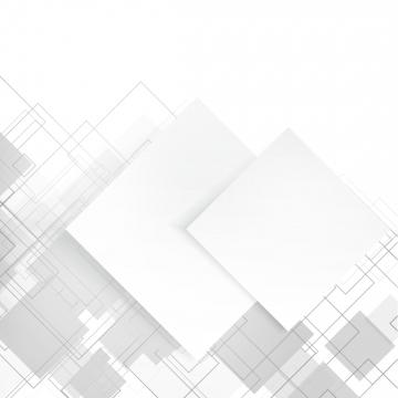 正方形の輪郭フレームと白の抽象的なバナー , 背景, ベクター, 白 背景画像